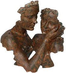 "Skulptur ""Innocence"", Kunstguss Steinoptik"