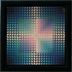 """Bild """"Quasar Paal 2"""" (1970er Jahre), gerahmt"""