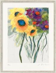 """Bild """"Sonnenblumen"""" (2014), gerahmt"""