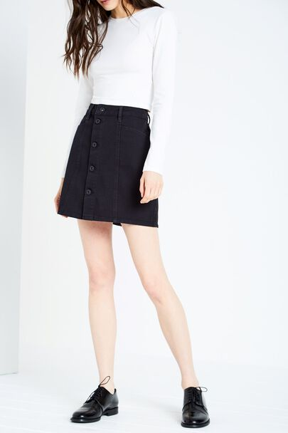 CAPENHURST BUTTON SKIRT