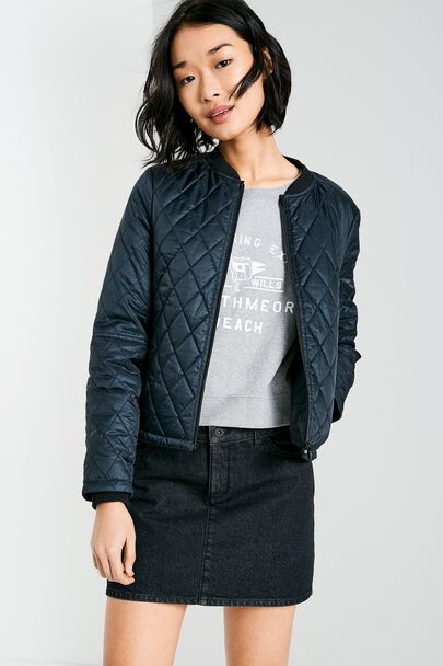 SARAH QUILTED RIPSTOP JACKET