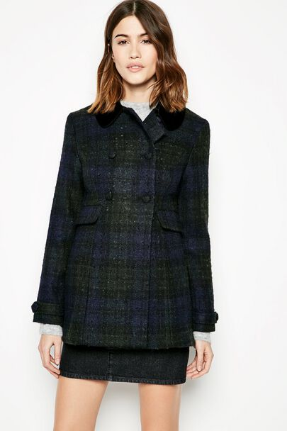 BELLWETHER CHECKED COAT