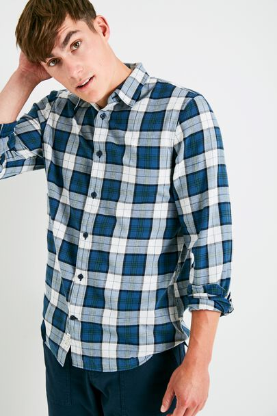 SALCOMBE FLANNEL CHECK SHIRT