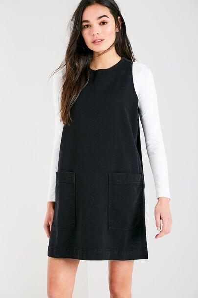 KEIGHLY DENIM SHIFT DRESS