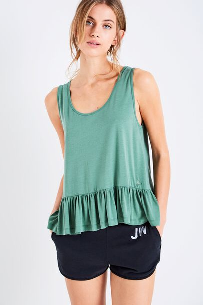 COSTON FRILL HEM TANK
