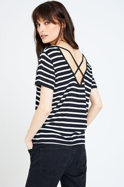 WILLOWDENE CROSS BACK T-SHIRT