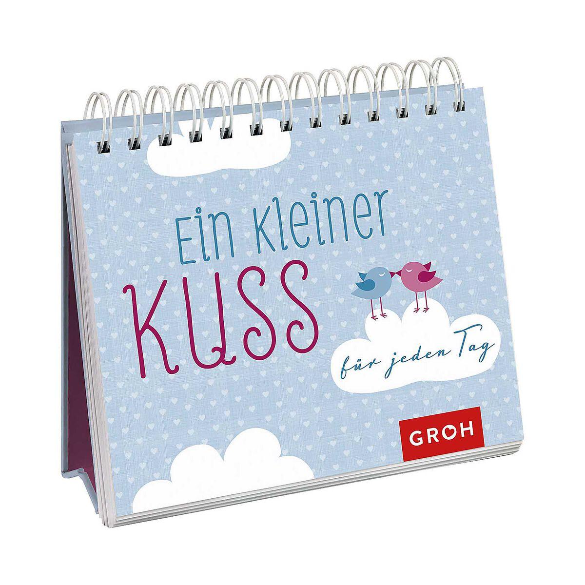 Briefe Für Jeden Tag : Spiralaufsteller ein kleiner kuss für jeden tag depot de