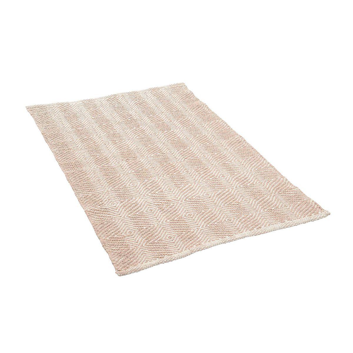 Teppich taupe ca B:60 x L:90 cm (100% Baumwolle) - Depot DE