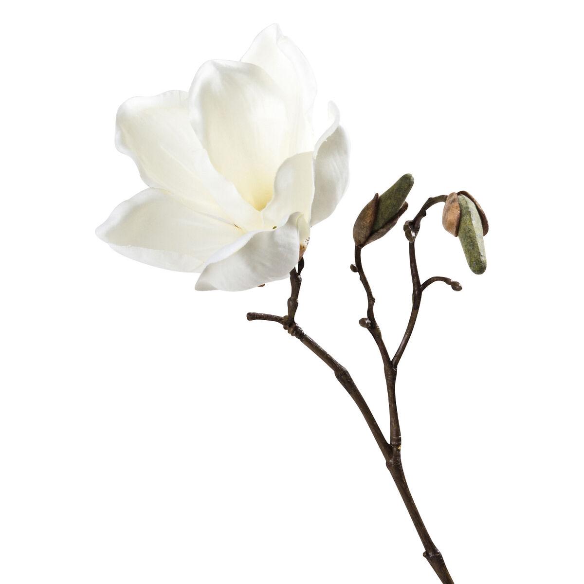 Magnolienzweig weiß ca. L:25,5 cm - Depot DE