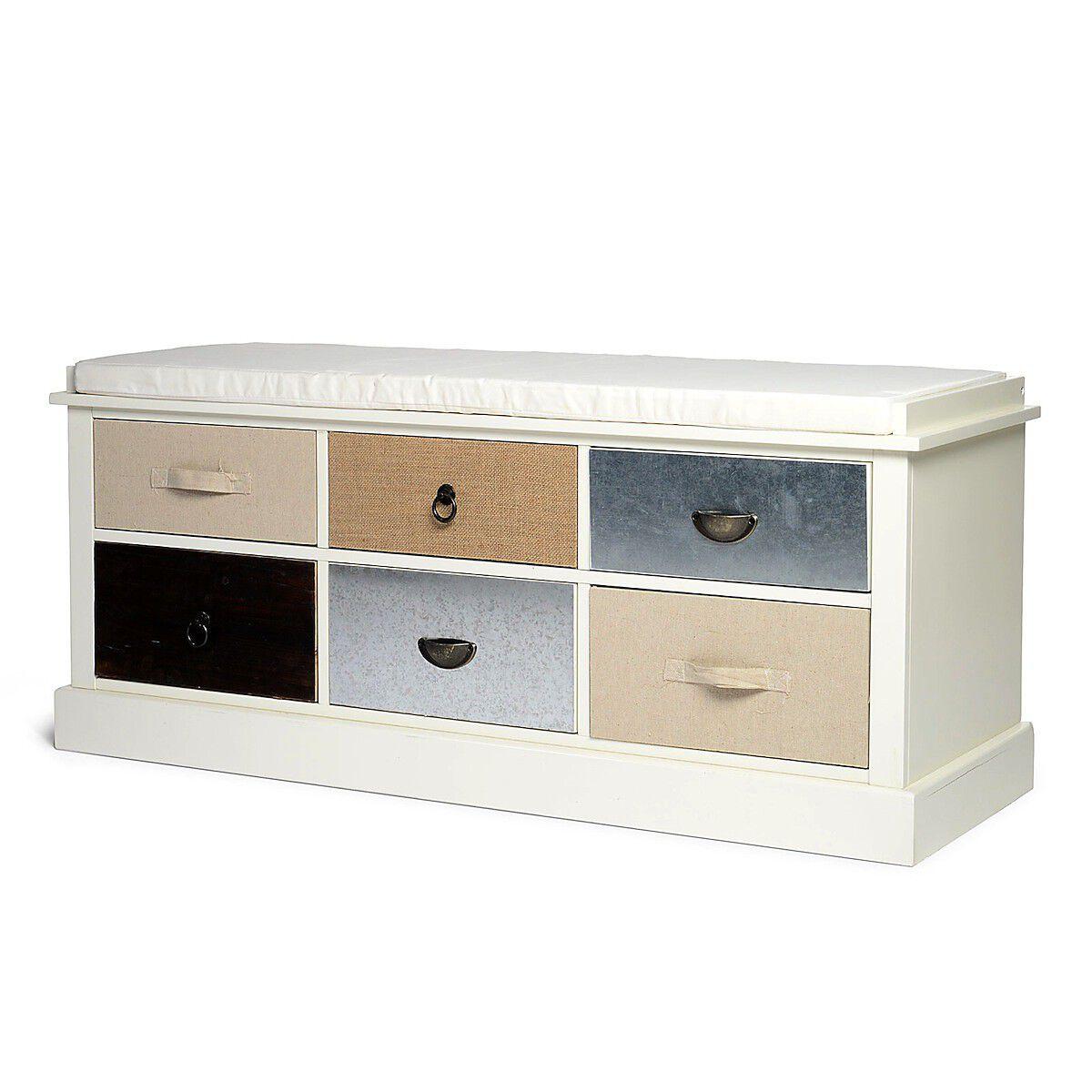 dielenbank ca l 120 x b 40 x h 50cm creme depot de. Black Bedroom Furniture Sets. Home Design Ideas