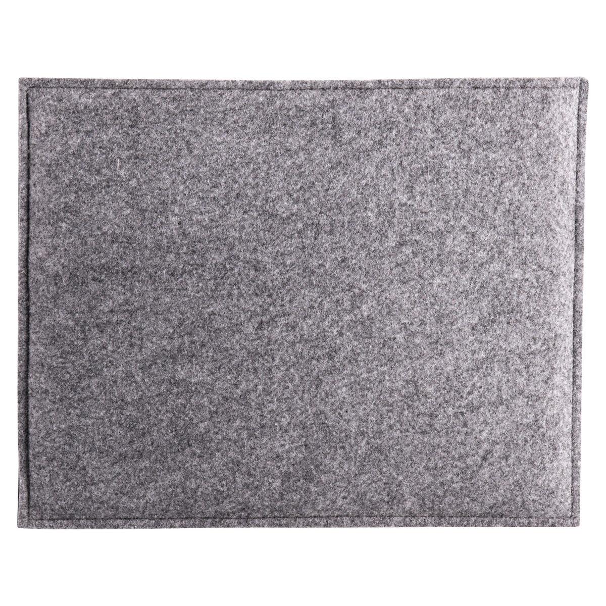 sitzkissen filz grau ca b 32 x l 40 cm depot de. Black Bedroom Furniture Sets. Home Design Ideas
