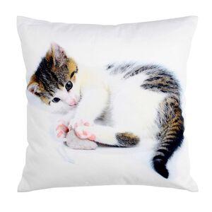 Kissen Tinka-Maus weiß ca B:45 x L:45 cm (Kissenhülle: 100% Baumwolle)