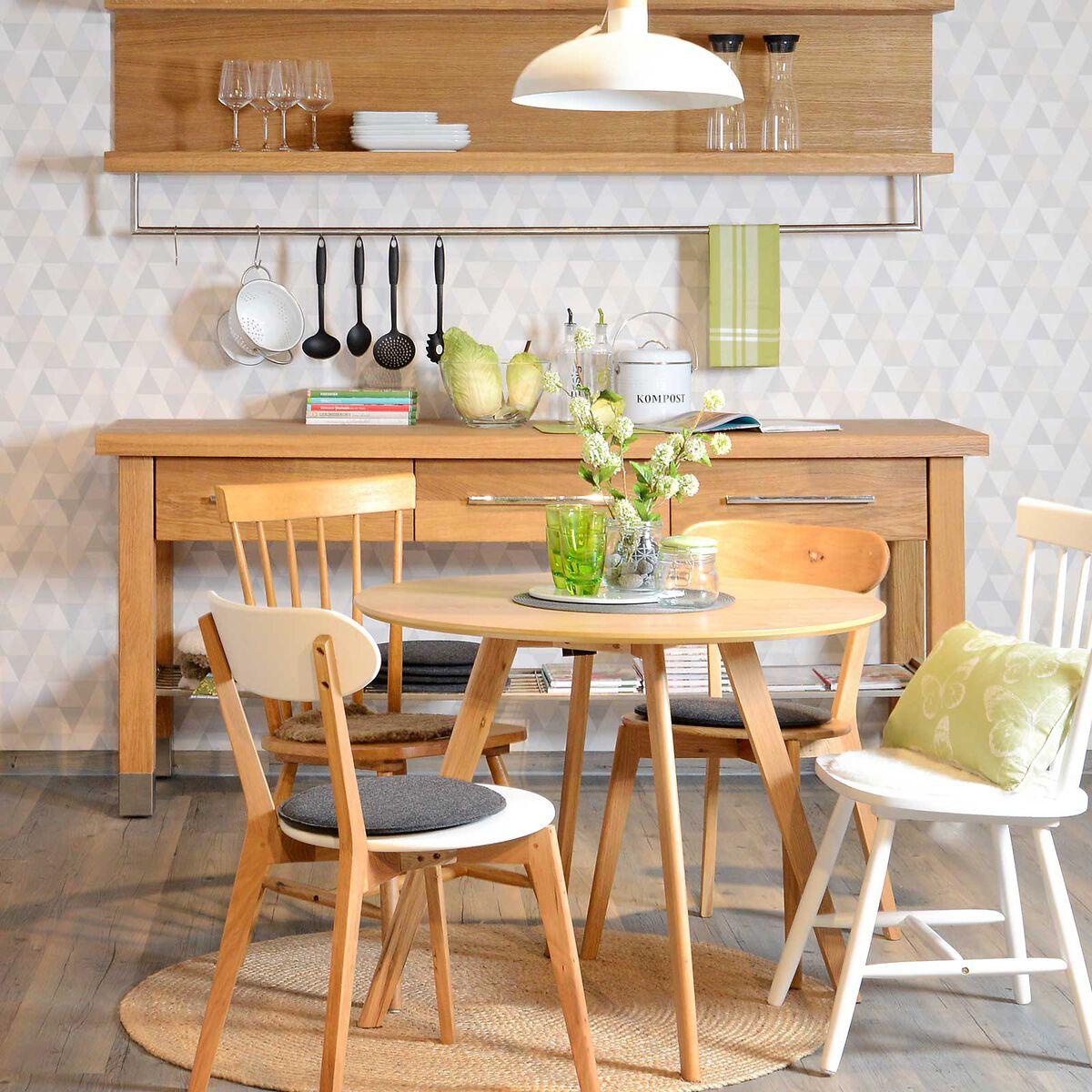 stuhl eiche ca b 54 x h 79 x t 44 5cm wei depot de. Black Bedroom Furniture Sets. Home Design Ideas