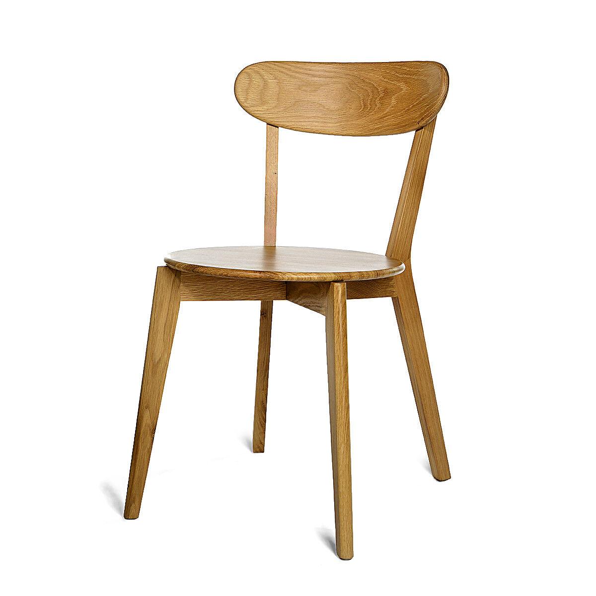 Stuhl eiche natur ca b 54 x h 79 x t 44 5 cm depot de for Stuhl 50 cm hoch