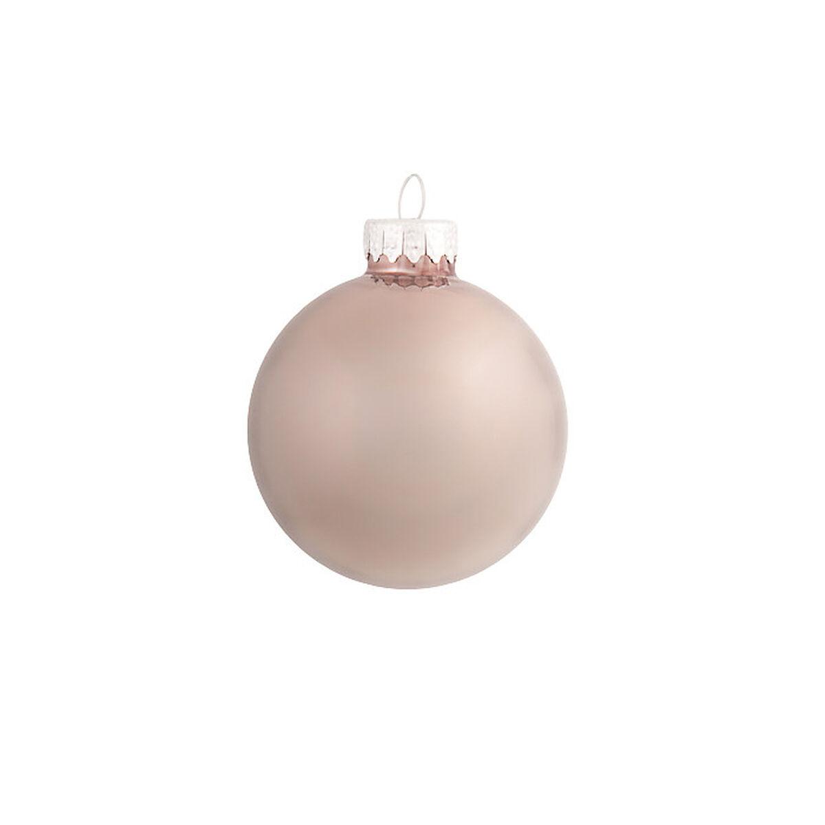 Weihnachtskugeln opal glas braun ca d 6 cm depot de for Weihnachtskugeln glas grau