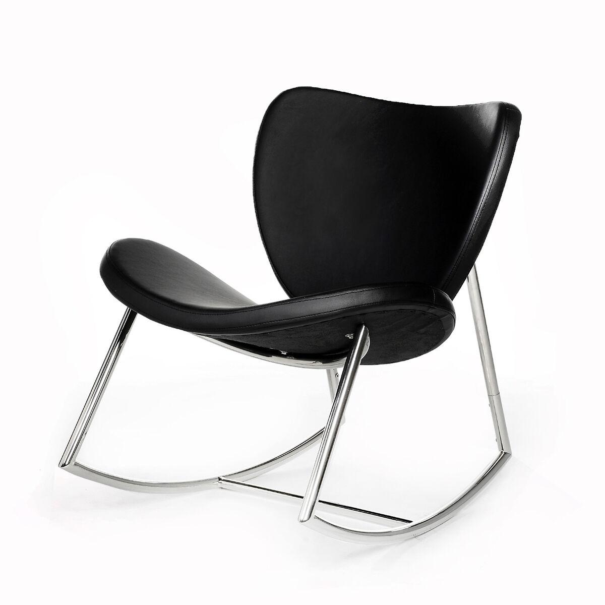 schaukelstuhl ca 66x74x80cm schwarz depot de. Black Bedroom Furniture Sets. Home Design Ideas
