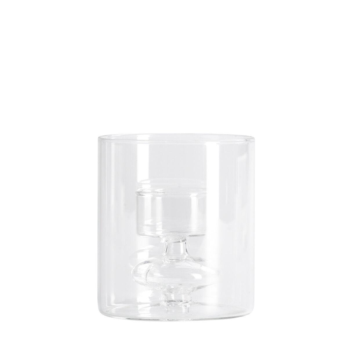 teelichthalter glas klar h 10 cm depot de. Black Bedroom Furniture Sets. Home Design Ideas