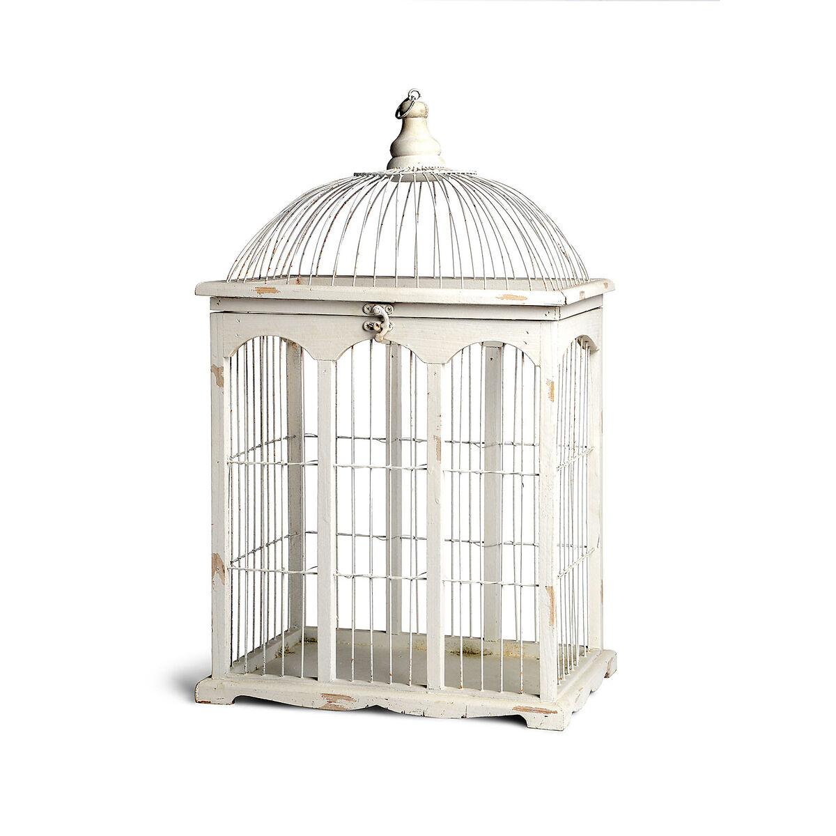 dekoobjekt vogelk fig tannenholz wei ca h 54 cm depot de. Black Bedroom Furniture Sets. Home Design Ideas