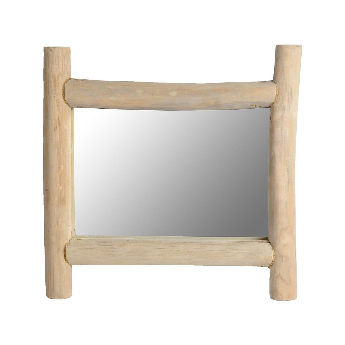 spiegel treibholz natur ca l 50 x h 50 x t 15 cm depot de. Black Bedroom Furniture Sets. Home Design Ideas