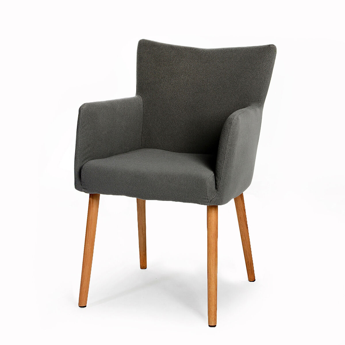 stuhl nellie viskose elastan eiche grau ca b 48 x h 87 x. Black Bedroom Furniture Sets. Home Design Ideas