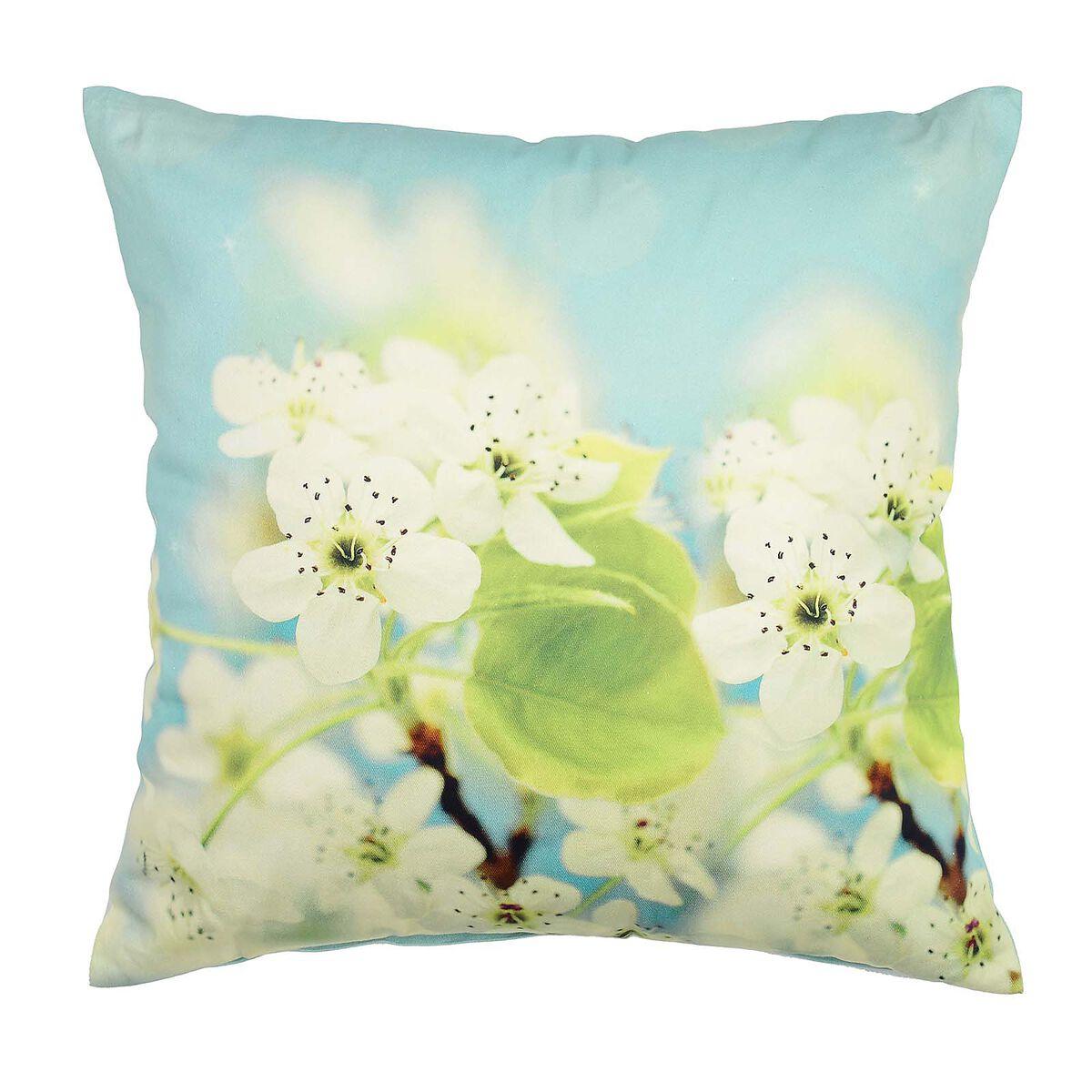 kissen cherry flower aqua ca b 45 x l 45 cm depot de. Black Bedroom Furniture Sets. Home Design Ideas