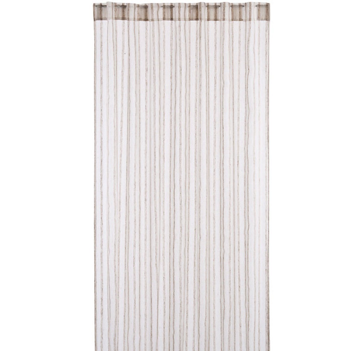 vorhang mit 8 verdeckten schlaufen polyester leinen natur ca b 140 x l 250 cm depot de. Black Bedroom Furniture Sets. Home Design Ideas