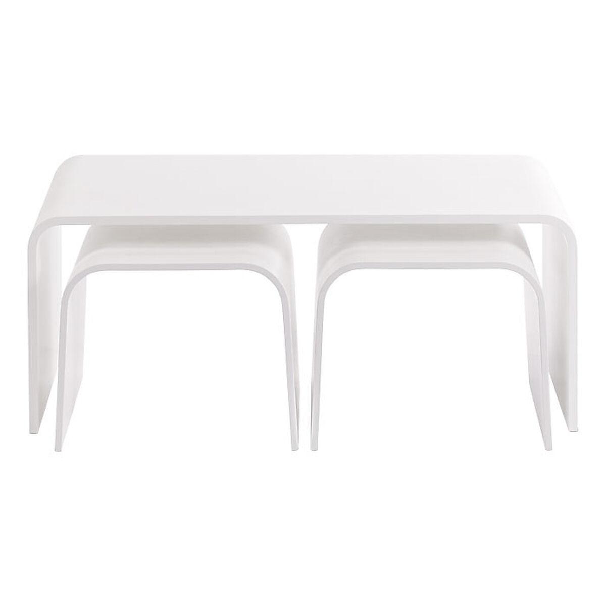 couchtisch 3er set weiss depot de. Black Bedroom Furniture Sets. Home Design Ideas