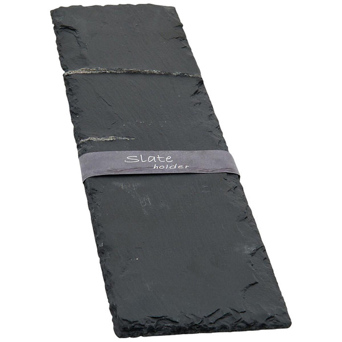 schieferplatte ca l 38 x b 9 cm depot de. Black Bedroom Furniture Sets. Home Design Ideas