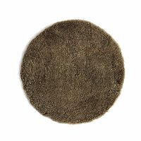 Sitzkissen rund Schaffell ca D:35 cm (Bezug: 100% Schurwolle)