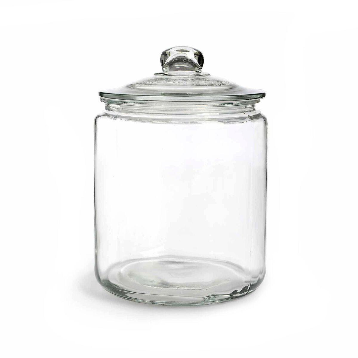 vorratsglas glas ca d 18 x h 25 cm ca 4100ml klar depot de. Black Bedroom Furniture Sets. Home Design Ideas