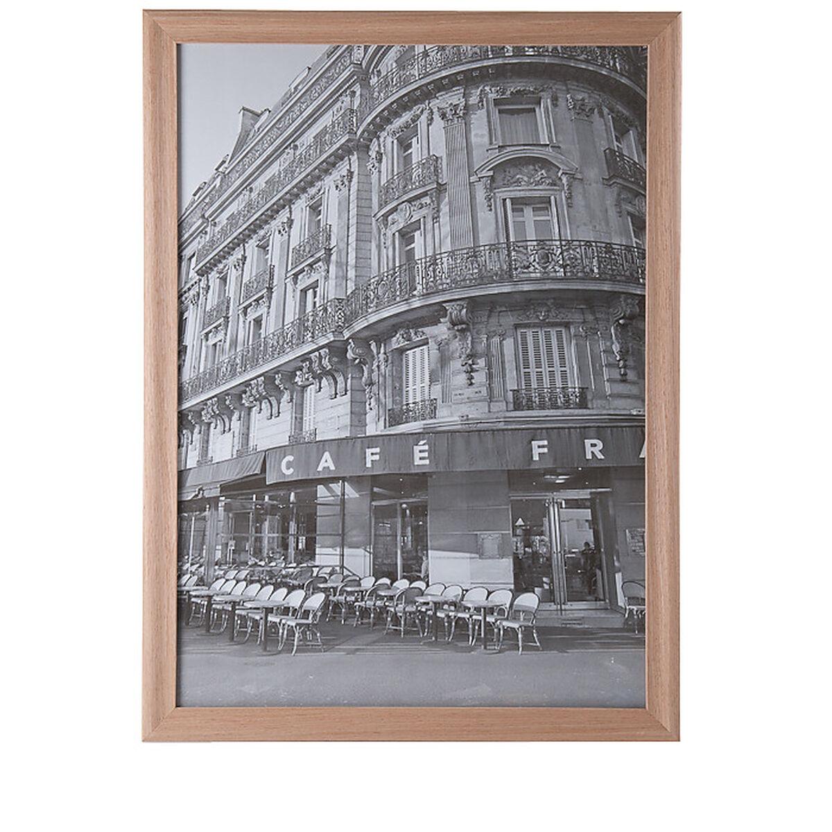 Bilderrahmen Collage Holz Natur ~   bilderrahmen bilder bildzubehör bilderrahmen holzrahmen metall und