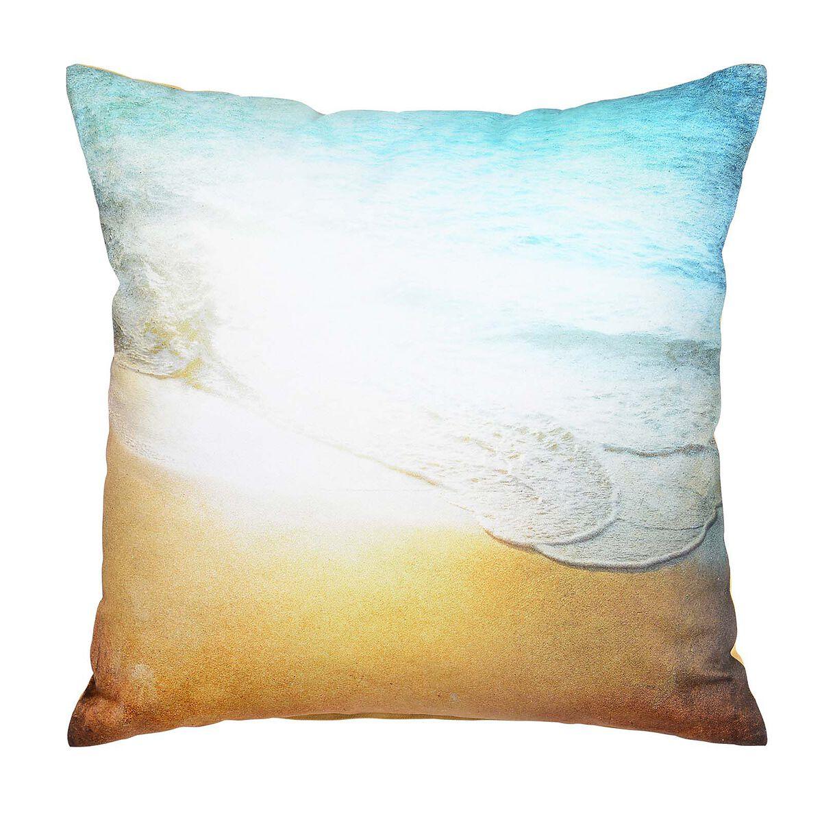 kissen seaside ca b 45 x l 45cm t rkis depot de. Black Bedroom Furniture Sets. Home Design Ideas