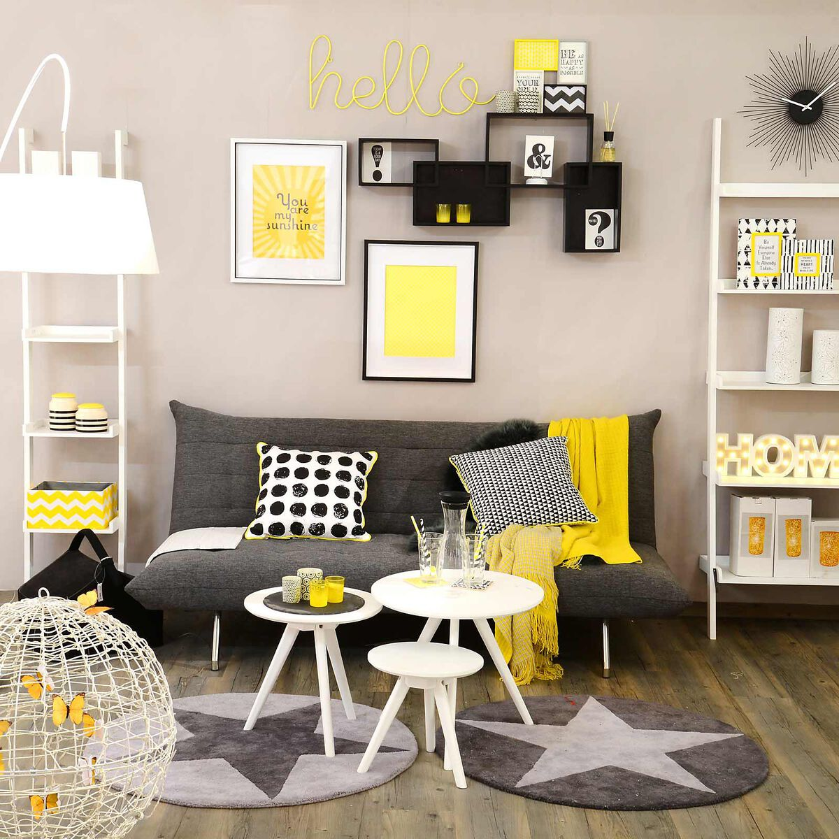 3er set beistelltisch mischholz weiss depot de. Black Bedroom Furniture Sets. Home Design Ideas