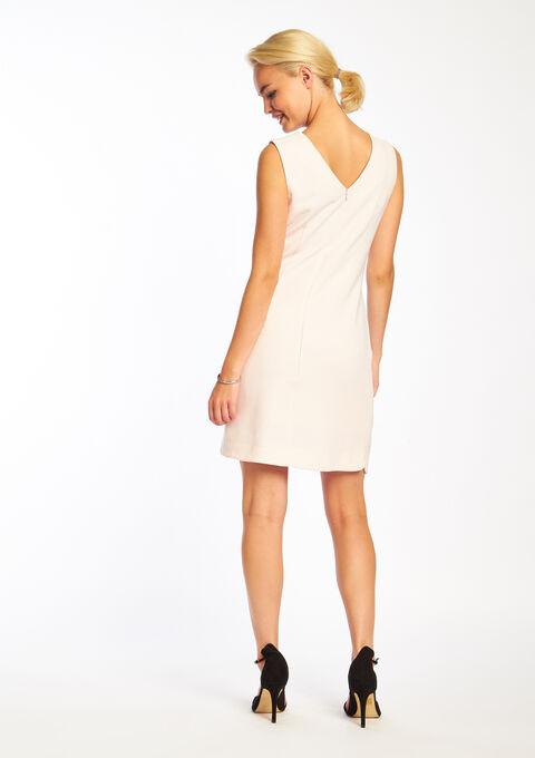 Effen jurk met ritssluiting - PINK BUBBLY - 08005163_1473