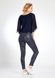 Pantalon imprimé 5-poches - DARK GREY - 06002772_931