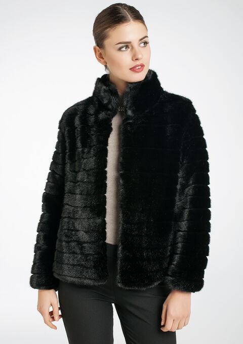 Manteau Court Fausse Fourrure. manteau fausse fourrure camel femme ... 11f45a0a66a