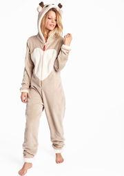 Pyjama onesie rendier stijl - BEIGE DEER - 15000398_1939