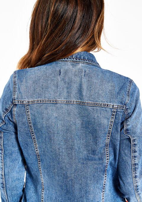 Jeansvest - MEDIUM BLUE - 09001074_500
