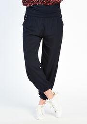 Pantalon uni avec 2 poches - NAVY INK - 06002872_1684