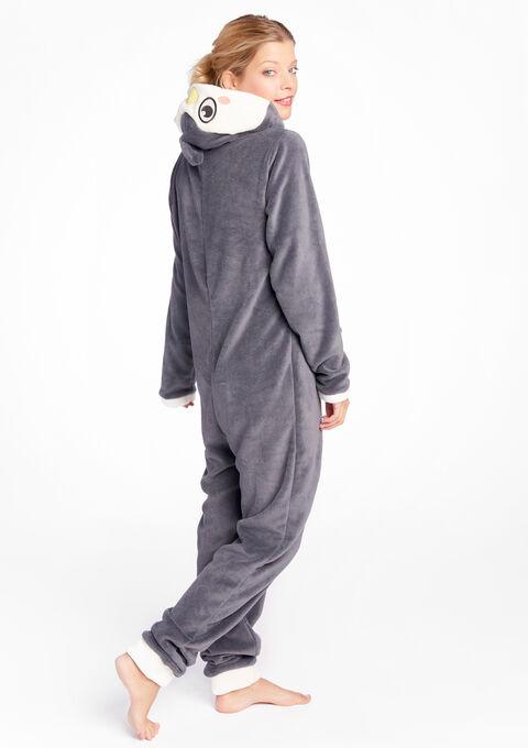 Onesie pinguïn stijl - DARK GREY SNOW - 15000400_2041